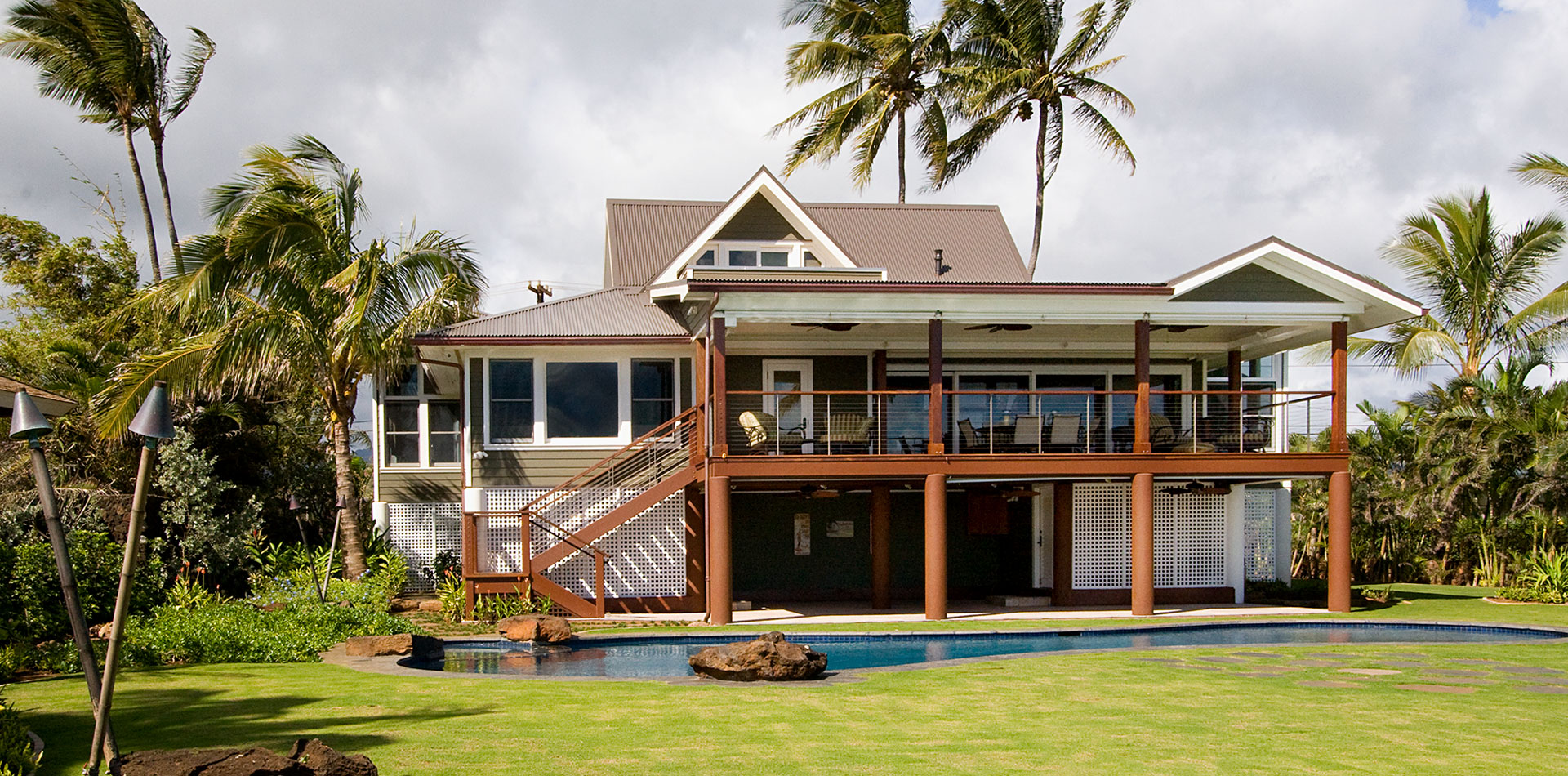 Luxury Home Construction - Poipu Kauai - Schurch Construction Kauai Hawaii